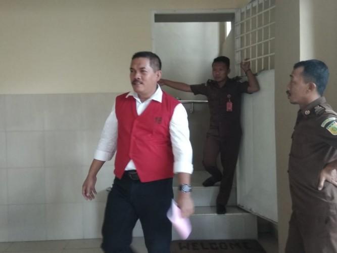 Jaksa Tolak Seluruh Pembelaan Mantan Kepala LP Kalianda Muchlis Adjie