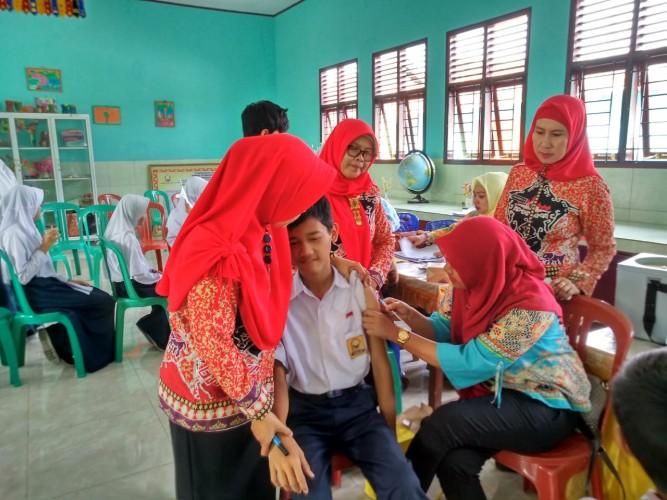Jalan Bersama MUI dan Dinkes, Solusi Tingkatkan Capaian Imunisasi MR