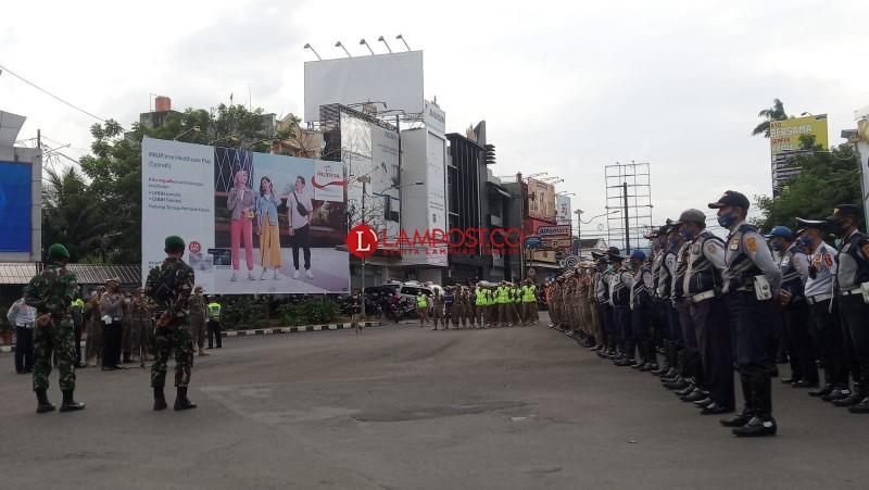 Jalan di Pusat Kota Bandar Lampung Ditutup Mulai Pukul 18.00