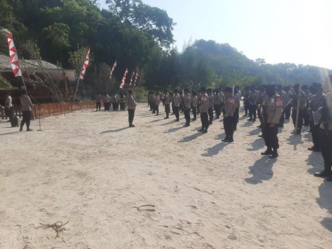 Jalan Juang, Pelatihan Terakhir Pasukan FPU 3 Minusca sebelum Pembaretan