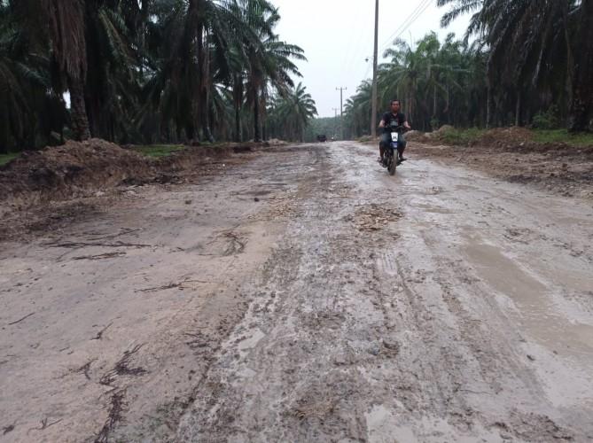 Jalan Menuju Desa Tak Tersentuh Pembangunan, Dampaknya Keguguran Kehamilan