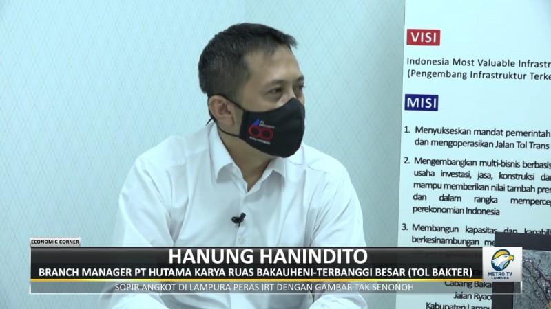 Jalan Tol Tingkatkan Kesejahteraan Masyarakat Lampung
