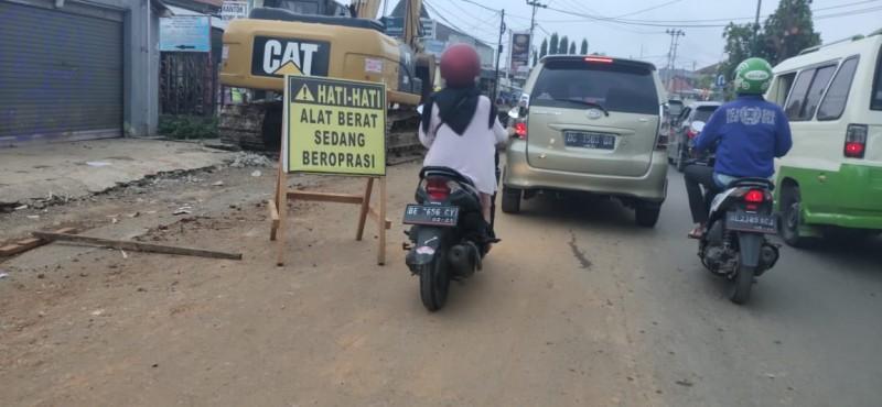 Jalan Urip dan Teuku Umar Diprediksi Macet atas Pembangunan <i>Fly Over</i>
