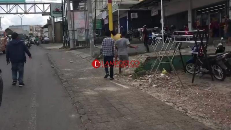 Jambret Ditangkap di Dekat Pom Bensin Antasari