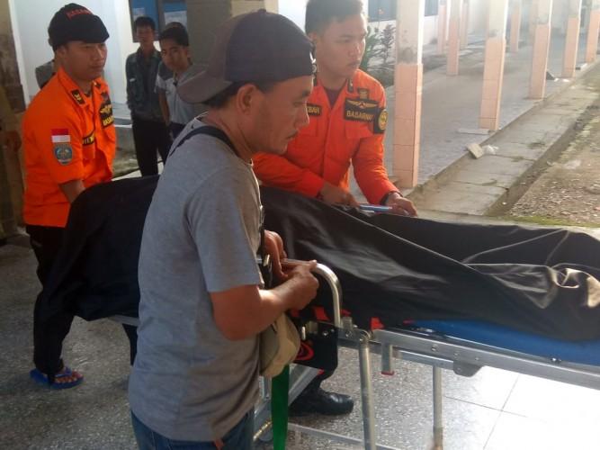 Jasad Korban Tenggelam di Pantai Cemara Ditemukan