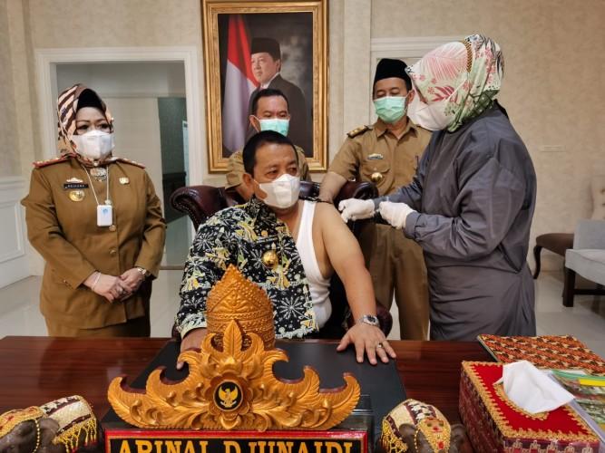 Jatah Vaksin Tahap II Lampung 148.200 Dosis