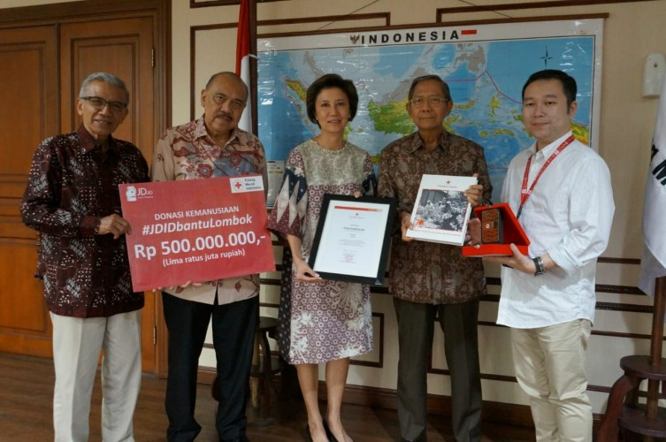 JD.Id Himpun Dana Untuk Korban Gempa Lombok