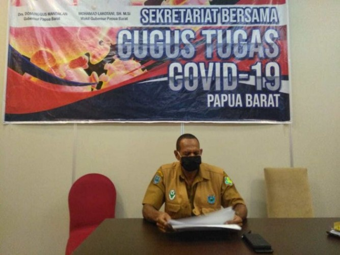 Jelang New Normal, Satgas Covid-19 Papua Barat Akan Dievaluasi