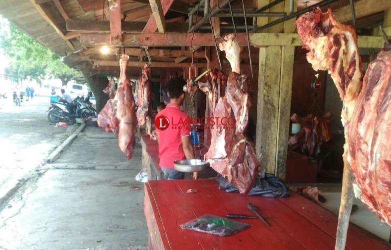 Jelang Puasa, Distan Lampura Awasi Peredaran Daging