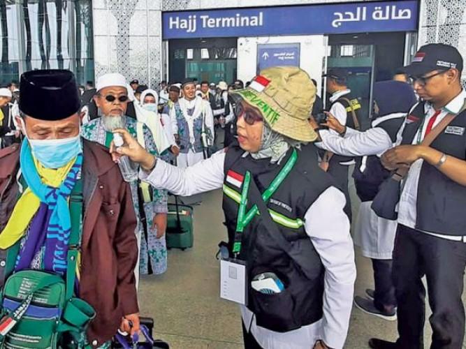Jemaah Calon Haji Tiba di Tanah Suci