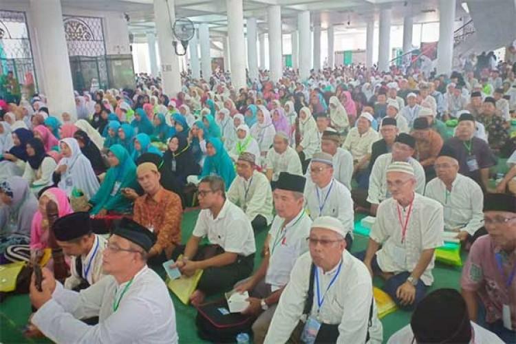 Jemaah Haji Waspadai Suhu Panas