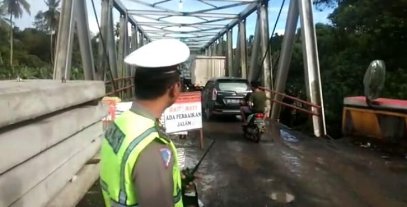 Jembatan Way Rarem Selesai Diperbaiki 15 September 2021