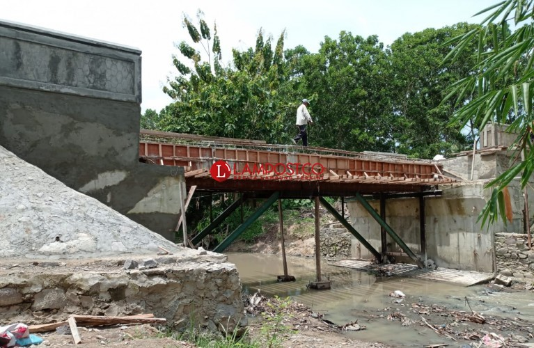 Jembatan Waysari Ditargetkan Rampung Akhir Maret