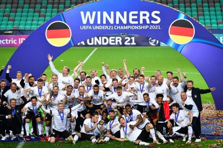 Jerman Juara Piala Eropa U-21
