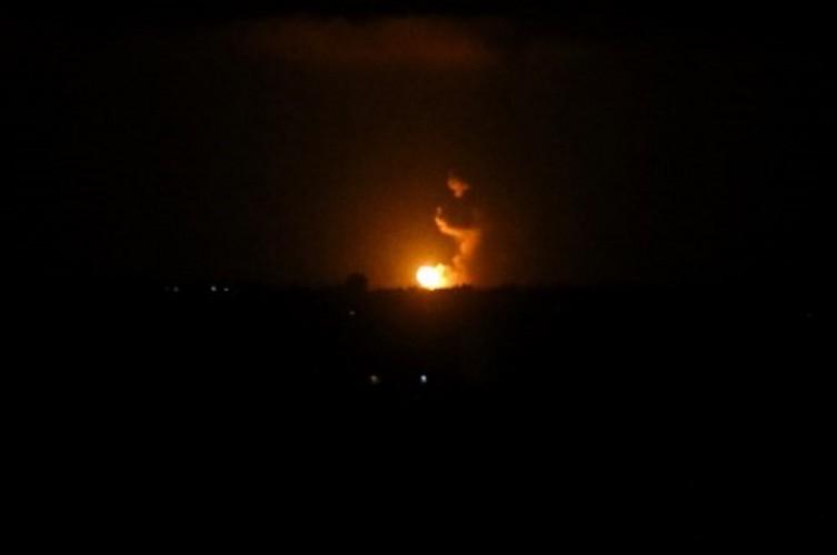 Jet Tempur Israel Serang Pabrik Roket Hamas di Jalur Gaza