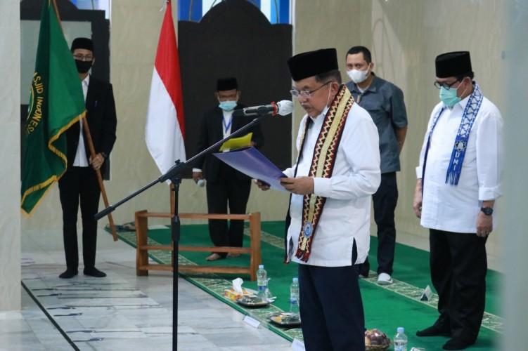 JK Imbau Pengurus DMI Lampung Makmurkan Warga di Sekitar Masjid