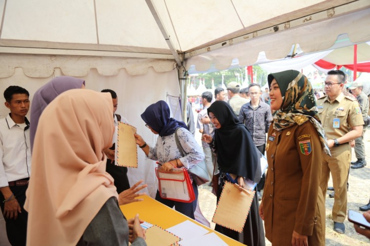Job Fair Targetkan 2.821 Calon Tenaga Kerja Direkrut