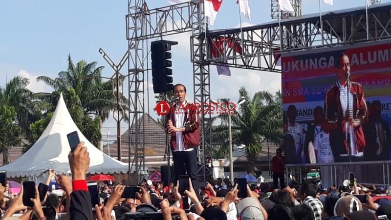 Joko Widodo: Lampung Miniatur Indonesia, Mari Jaga Persatuan