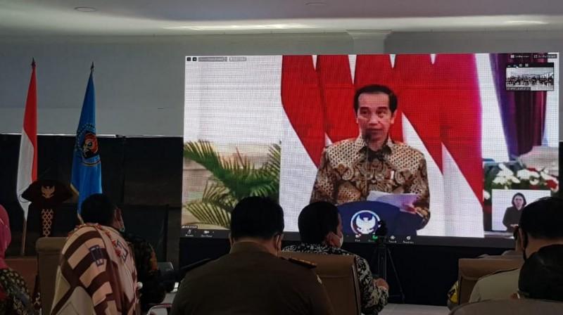 Jokowi Ajak Media Bangkit Lawan Pandemi