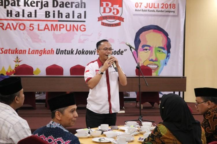 Jokowi-Amin Menang, Bravo 5 Lampung Rajut Kembali Persatuan