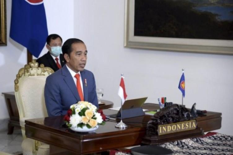 Jokowi Bahas Penanganan Covid-19 di KTT ke-37 ASEAN