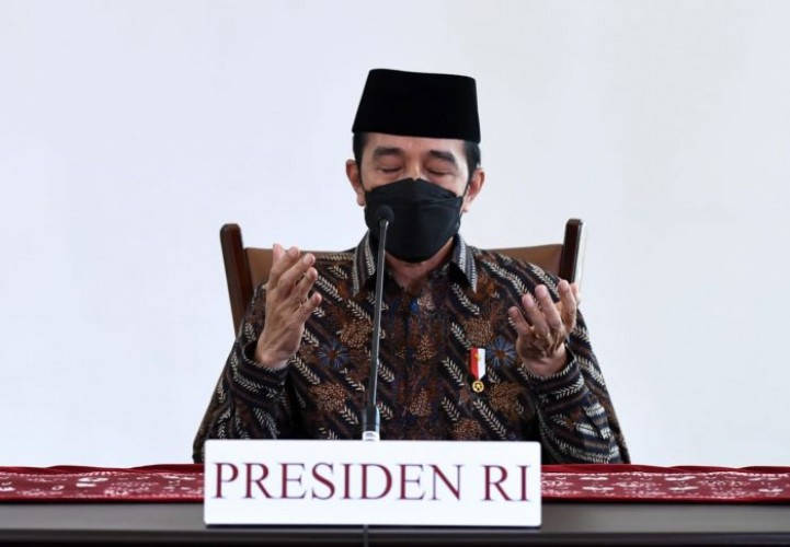 Jokowi Berharap Iduladha Jadi Momentum Pengorbanan