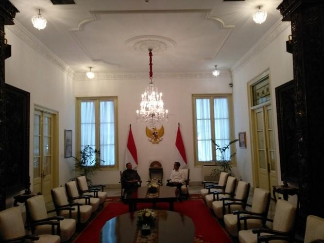 Jokowi dan SBY Membahas Jatah Menteri