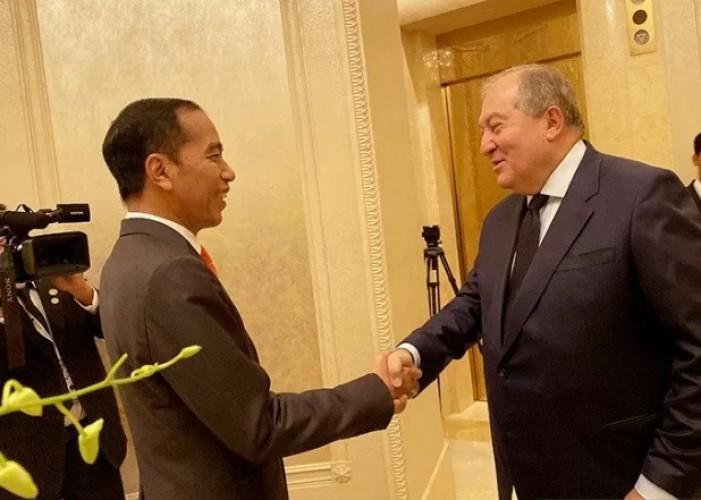 Jokowi Gelar Pertemuan Bilateral dengan Presiden Armenia