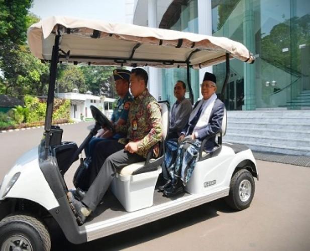 Jokowi Izinkan Wakil Presiden Punya 10 Stafsus