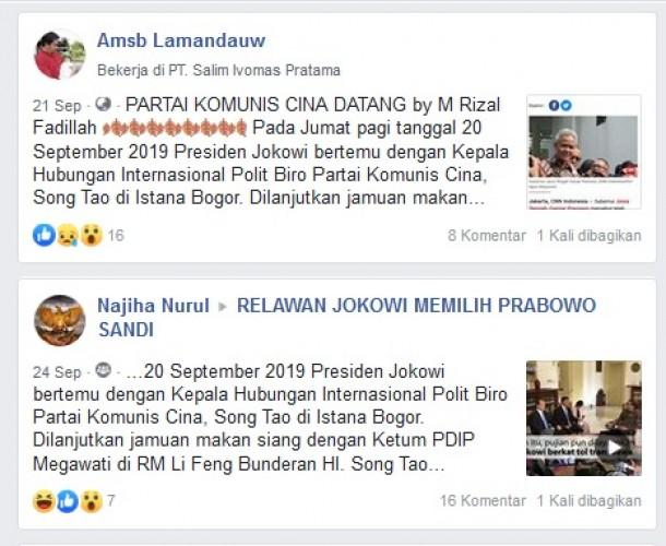 Jokowi Menjalin Kerja Sama Berbahaya dengan Tiongkok?