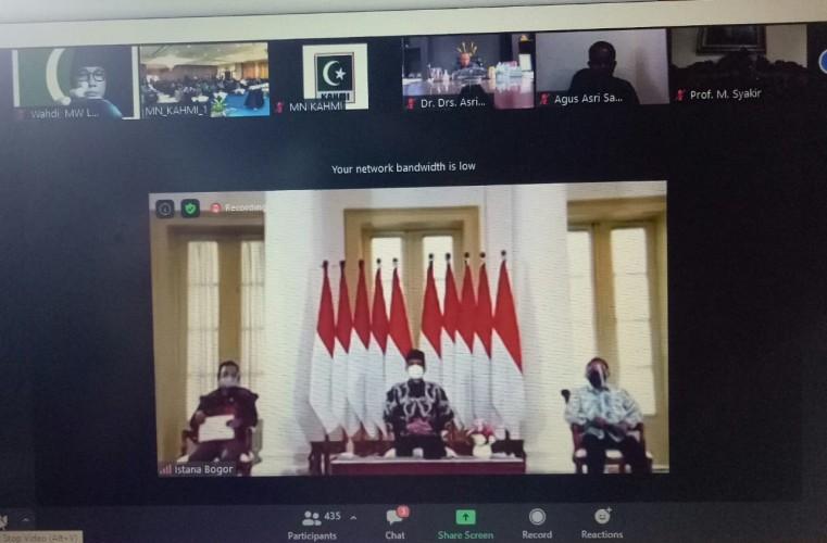 Jokowi Minta KAHMI Kembangkan Peran di Berbagai Bidang