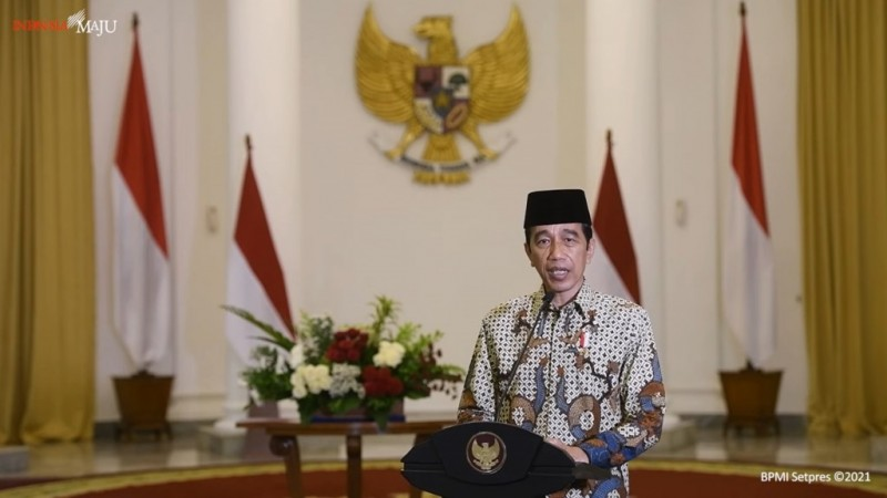 Jokowi Minta Proyek Pemerintah Tak Pakai Produk Impor