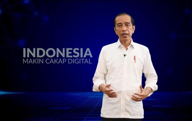 Jokowi Minta Ruang Digital Dibanjiri Konten Positif