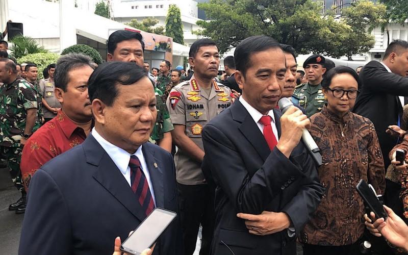 Jokowi Perintahkan Prabowo Perkuat Diplomasi Pertahanan