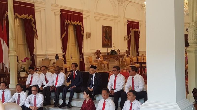 Jokowi Perkenalkan 12 Wakil Menteri, Ini Daftarnya