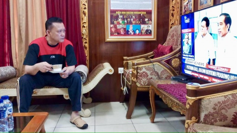 Jokowi-Prabowo Bertemu, Ini Kata Ike Edwin