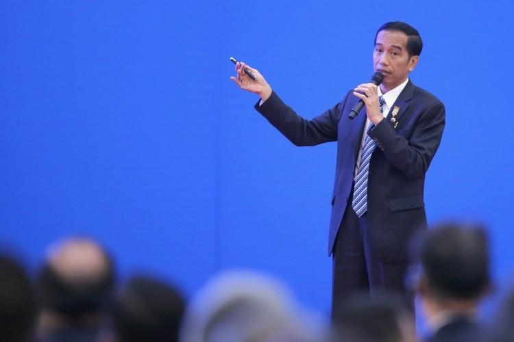 Jokowi Sebut Ekonomi RI 2019 hanya 5,04%