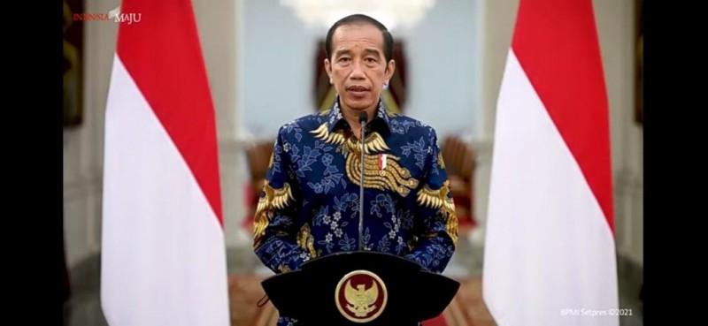 Jokowi Sebut Kondisi Indonesia Membaik Usai 1,5 Tahun Dihantam Pandemi