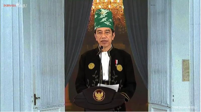 Jokowi Sebut Pendalaman Nilai Pancasila Tak Bisa dengan Cara Biasa