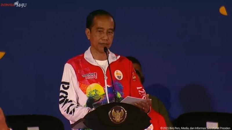 Jokowi Sebut PON XX Papua Adalah Panggung Persatuan dan Kebersamaan