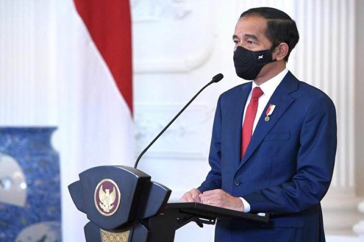 Jokowi Sebut TWK Tak Jadi Dasar Pemberhentian Pegawai KPK