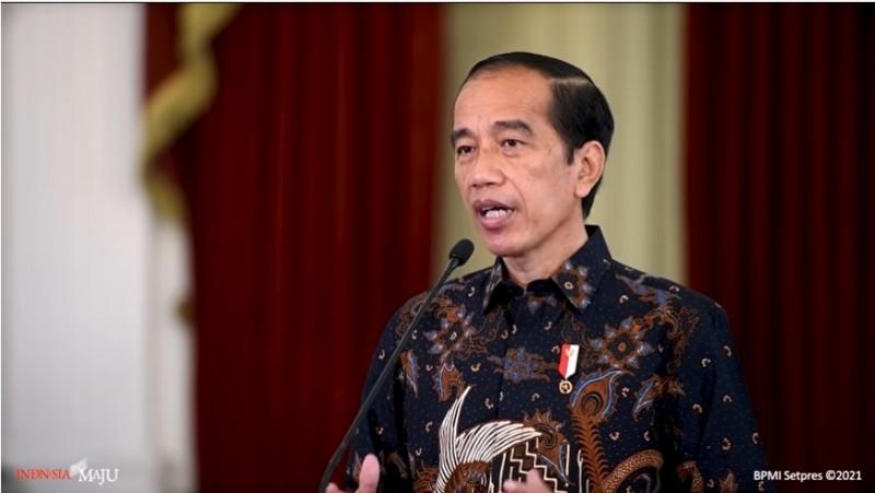 Jokowi Tegaskan Pengendalian Covid-19 Kunci Pertumbuhan Ekonomi