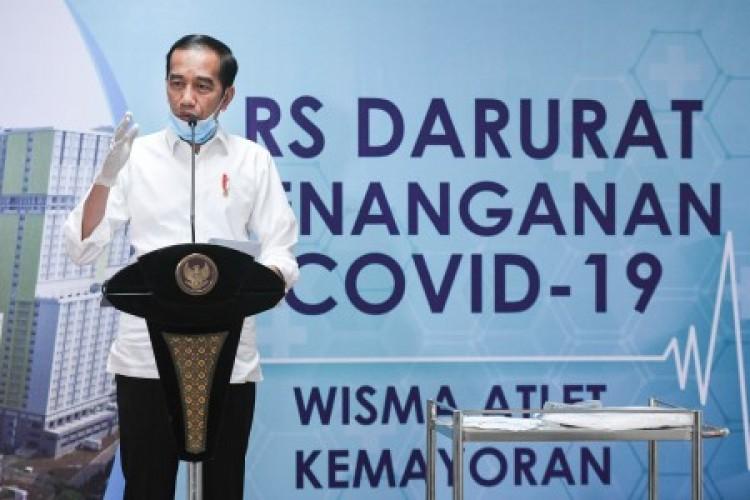 Jokowi Ungkap Hikmah di Balik Pandemi Covid-19