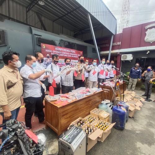 Judi, Premanisme, dan Prostitusi Dominasi Kejahatan di Lampung