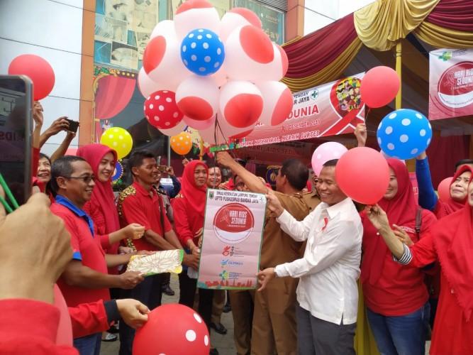 97 Warga Lampung Tengah Positif AIDS