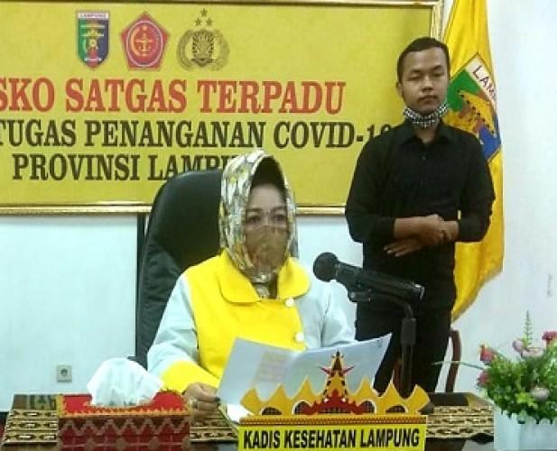 Jumlah Pasien Covid-19 di Lampung Tetap 209