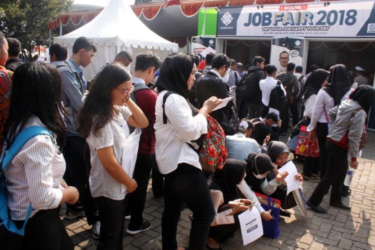 Jumlah Pengangguran di Indonesia 7,05 Juta Orang