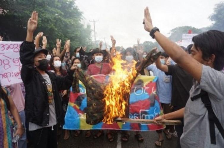 Junta Myanmar Akan Bebaskan 5 Ribu Demonstran