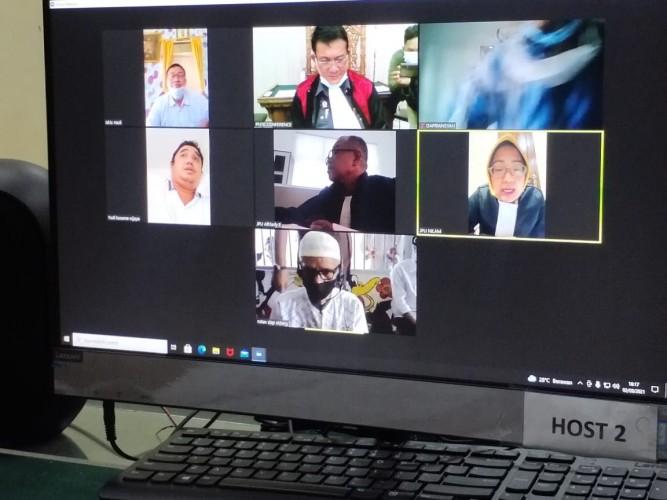 Juprius Bantah Terlibat Jual Beli Proyek di Dinas BMBK Lampung