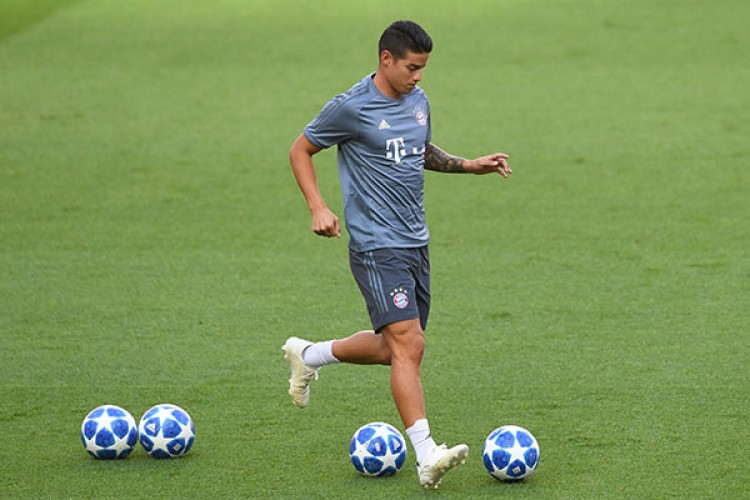 Juventus Incar James Rodriguez
